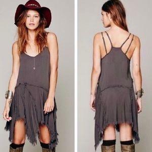 Free People Intimately Boho Strappy Tunic Dress XS